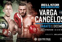 Uitslagen : Bellator Kickboxing 11 : Varga vs. Cangelosi