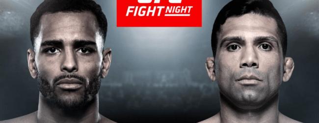 Londenaar Danny Roberts ontmoet Claudio Silva tijdens UFC Londen