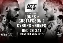 Fox Sports NL sluit UFC periode af met complete UFC 232 evenement op Fox Sports 4