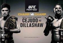 Feiten en weetjes over UFC Fight Night on ESPN+ 1