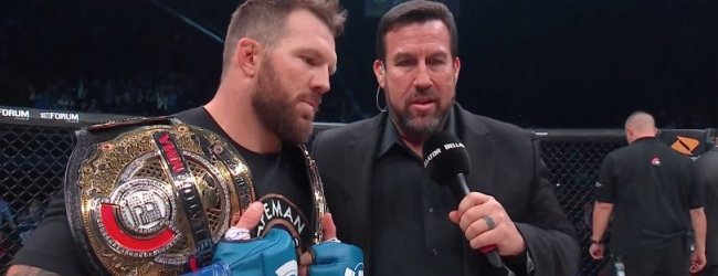 "Ryan Bader slaat Fedor Emelianenko KO na 35 seconden en is ""Champ-Champ"""
