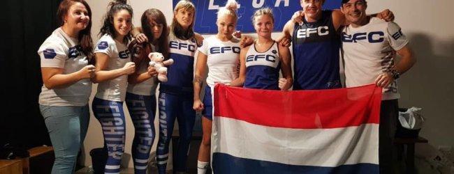 Mellony Geugjes plaatst zich voor halve finale van EFC The Fighter