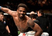 Fortis MMA vechter Charles Byrd treft Maki Pitolo tijdens UFC 250