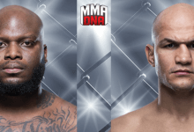 Derrick Lewis vs. Junior Dos Santos is het Main Event voor UFC Wichita