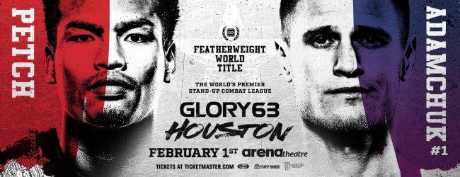 GLORY 63: De gevechten