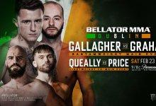 Uitslagen : Bellator 217 : Gallagher vs. Graham