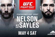 Kyle Nelson en Matt Sayles op zoek naar eerste overwinning in de UFC tijdens UFC Ottawa