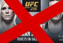 "Dana White: ""Holly Holm vs. Aspen Ladd gecanceld voor UFC 235"""