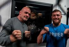 Conor McGregor toont respect voor Bas Rutten