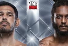"""""""Minotouro"""" Nogueira treft Ryan Spann tijdens UFC 237 in Curitiba"""