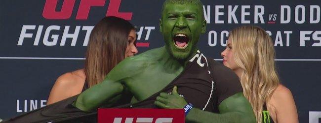 Poging twee: Glover Teixeira vs. Ion Cutelaba tijdens UFC on ESPN 3 in Miami