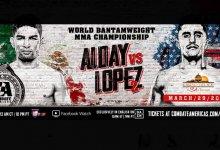 Uitslagen : Combate Americas 33 : Alday vs. Lopez 2