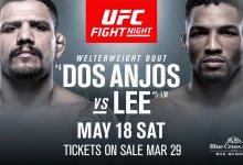Kevin Lee gaat divisie omhoog, treft Rafael Dos Anjos tijdens UFC Rochester's Main Event