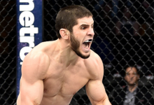 Islam Makhachev treft nieuwkomer Arman Tsarukyan tijdens UFC St.Petersburg
