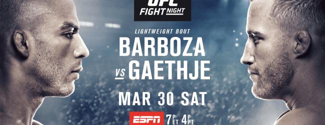 Uitslagen : UFC on ESPN 2 : Barboza vs. Gaethje