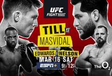Uitslagen : UFC on ESPN+ 5 London : Till vs. Masvidal