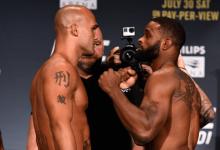 Rematch tussen Tyron Woodley en Robbie Lawler is het Main Event voor UFC Minneapolis