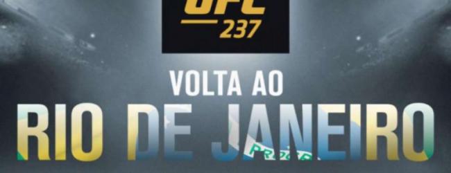 Thiago Moises treft Kurt Holobaugh tijdens UFC 237 in Rio de Janeiro