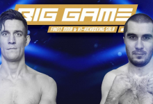 Artur Aliev is de nieuwe tegenstander van Duane van Helvoirt tijdens Big Game Finest MMA