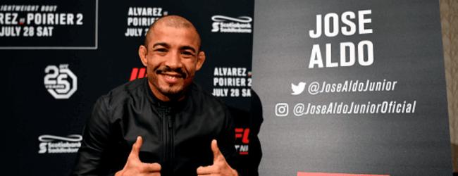 José Aldo treft Marlon Vera in derde bantamweight gevecht op 19 december