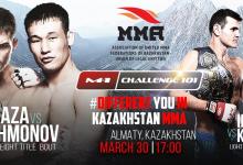 Uitslagen : M-1 Challenge 101 : Prikaza vs. Rakhmonov