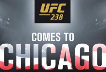 Twee eerste gevechten voor UFC 238 in Chicago bekend gemaakt