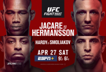 Uitslagen : UFC on ESPN+ 8 Fort Lauderdale : Jacaré vs. Hermansson