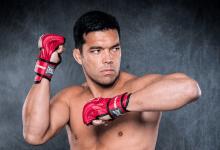 Lyoto Machida vs. Chael Sonnen tijdens Bellator evenement in MSG Arena