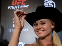 Andrea Lee treft Lauren Murphy in Flyweight divisie tijdens UFC Houston