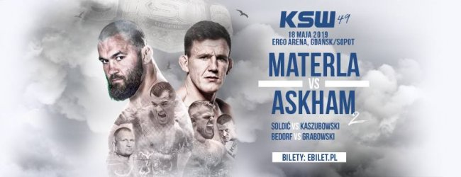Uitslagen : KSW 49 : Materla vs. Askham 2