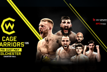 Uitslagen : Cage Warriors 105 : Barnett vs. Carter