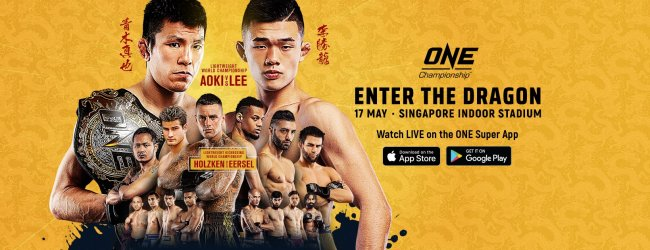 Uitslagen : ONE Championship 95 : Enter The Dragon