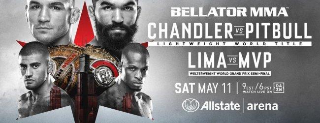 Uitslagen : Bellator 221 : Chandler vs. Pitbull