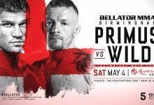 Uitslagen : Bellator Europe 2 : Primus vs. Wilde