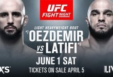 UFC Stockholm verliest Co-Main Event na rugblessure van Ilir Latifi