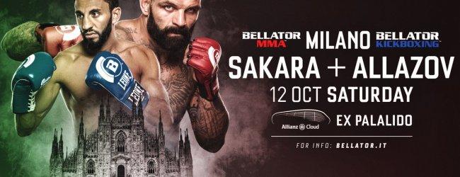 Bellator komt in Oktober 2019 met combi-evenement naar Milaan