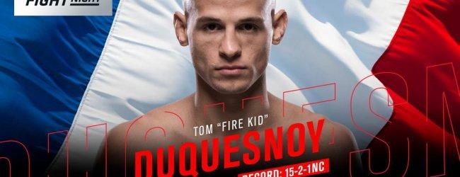 Tom Duquesnoy stopt per direct met wedstrijdvechten