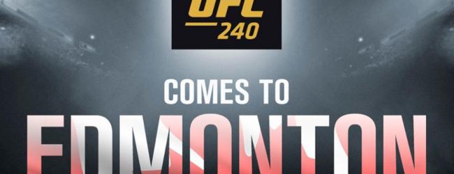 Welterweights Erik Koch en Kyle Stewart treffen elkaar tijdens UFC 240 in Edmonton