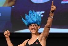 Roxanne Modafferi treft ongeslagen Maycee Barber tijdens UFC 246 in Las Vegas