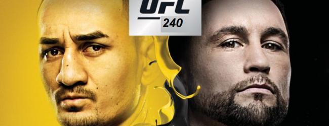 Max Holloway zet titel op het spel tegen Frankie Edgar tijdens UFC 240 in Edmonton