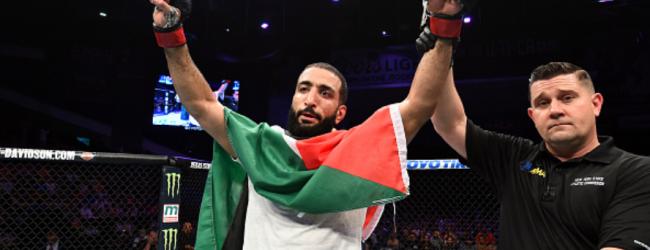 Belal Muhammad vs. Takashi Sato eerste gevecht voor UFC 242 in Abu Dhabi