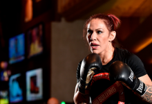 Cris Cyborg treft Felicia Spencer tijdens UFC 240's Co-Main Event in Edmonton