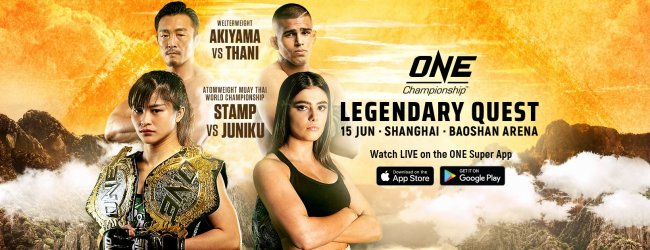 Uitslagen : ONE Championship 96 : Legendary Quest