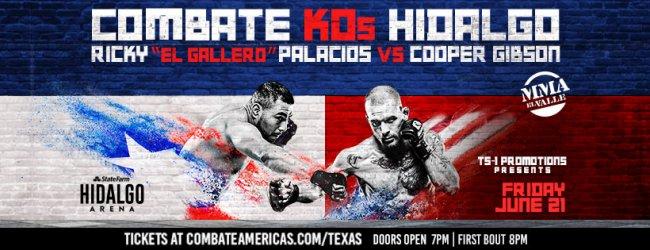 Uitslagen : Combate Americas 40 : Palacios vs. Gibson