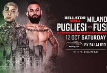 Rematch tussen Walter Pugliesi en Andrea Fusi is het eerste gevecht voor Bellator Milaan