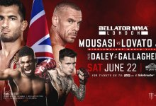 Uitslagen : Bellator 223 : Mousasi vs. Lovato Jr.