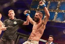 UFC debuut voor Luiz Eduardo Garagorri tegen Humberto Bandenay tijdens UFC Uruguay
