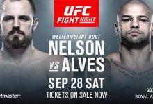 Gunnar Nelson vs. Thiago Alves eerste officiële gevecht voor UFC Kopenhagen