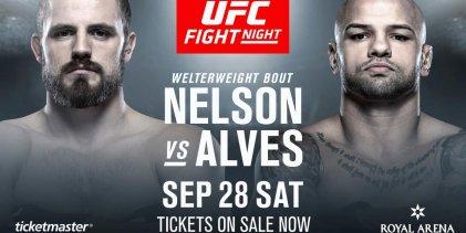 Gunnar Nelson zoekt nieuwe tegenstander voor UFC Kopenhagen