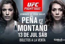 Sara McMann geblesseerd, Julianna Peña treft Nicco Montaño tijdens UFC Sacramento